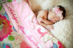 Her first baby pics